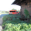 Der Krankenwagen vom DRK
