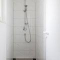 Weitere Dusche im Erdgeschoss