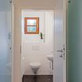 WC im Erdgeschoss