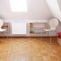 Dachzimmer mit 2 Einzelbetten