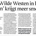 2018 02 16 'Het Wilde Westen in het Oosten' krijgt meer smoel'.