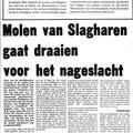 1975 02 14 Milen van Slagharen gaat draaien voor het nageslacht, deel 1.