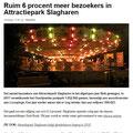 2018 01 19 Ruim 6 procent meer bezoekers in Attractiepark Slagharen LOOOPINGS NL.