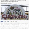 2018 05 17 Attractiepark Slagharen bouwt twintig meter hoge adventure trail.
