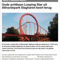 2018 02 27 Oude achtbaan 'Looping Star' uit Attractiepark Slagharen keert terug.