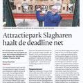 2018 03 15 Attractiepark Slagharen haalt de deadline net.
