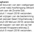 2018 03 14 Omgevingsvergunning aanleg voetgangerstunnel.
