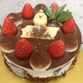 チョコレートムース 直径15cm