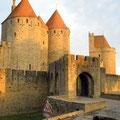 Carcassonne (Altstadt): Das Narbonner Tor (Haupteingang