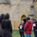 Burg Arques, Führung (Aude)