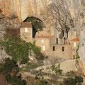 ermitage St.Antoine dans les gorges de Galamus
