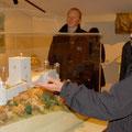 Führung im Quercorb -Museum von Puivert (Aude)
