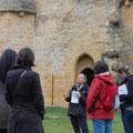 château d'Arques, visite guidée