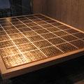 Golden blocks_185.0×276.0cm_麻紙 金属箔 墨_2011