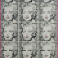 Instant people # marilyn 162.0×92.0cm_麻紙 アルミ箔 鉛筆 アクリル絵具 一円硬貨/フロッタージュ_2018