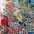 Banana_33.3×24.2cm_麻紙 水干絵具 岩絵具_2007