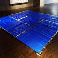 Blue yojohan_270.0×270.0_ブルーシート 金属箔_2016