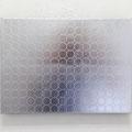 Circle_24.2×33.3cm_麻紙 アルミ箔 エンボス_2014