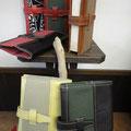 参考価格 2500- ハンプ×レザー/文庫本サイズ・ブックカバー