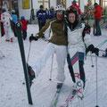 Thorsten und Toni die Skifahrer