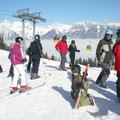 """Skifahren nach dem """"Warmmachen"""""""