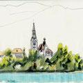 Bled, Slovénie  © Olivier Loir