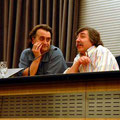 Conferencia en León con Carmelo Fernández