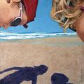 Schattenspiele, 2009, Acryl auf Leinwand, 100 x 80 cm