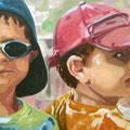 LuT, 2006, Acryl auf Leinwand, 115 x 65 cm