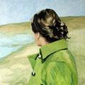 Sehnsucht, 2009, Acryl auf Leinwand, 75 x 90 cm