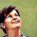 Grün, 2007, Acryl auf Leinwand, 70 x 50 cm