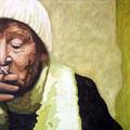 Genuss, 2009, Acryl auf Leinwand, 70 x 90 cm