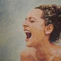 Maya Boog T2, 2014, Acryl auf Leinwand, 60 x 60 cm