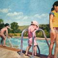 Pool, 2006, Acryl auf Leinwand, 100 x 145 cm