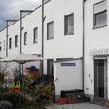 Neubau von 6 Reihenhäusern in Regensburg