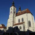 Sanierung Fassade Neupfarrkirche in  Regensburg