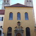 Sanierung und Fassade Kirche Niedermünster in Regensburg