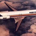 Modellzeichnung einer MD-87 der TDA/Courtesy: McDonnell Douglas