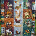 My chicken quilt