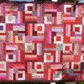 Ein Quilt aus 365 verschiedenen Stoffen!