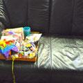 Mein Sofa, ausnahmsweise mal aufgeräumt...