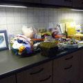 Meine Lappenecke in der Küche, ausnahmsweise mal aufgeräumt...