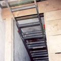 Einbau der Zwischenböden am 13. März 1999