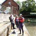 Samedi 22/08. Club de kayak de Montreuil-sur-mer, prêts au départ