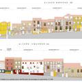 Estado previo de fachadas antes de la intervención