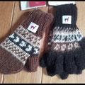 Schöne Fingerhandschuhe für Kinder und Erwachsene aus 100%- iger Alpakawolle - in Peru hergestellt