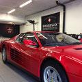Ferrari Testarossa with Swissvax Concorso wax