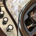 定番のアクティブ3バンドEQはY.O.S.オリジナル。オーディオアンプのような上品な音作りを目指しています。