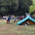 """L'inizio della manifestazione """"Passeggiata nel Parco di Veio"""""""