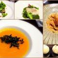 別府鉄輪温泉「柳屋」に併設のイタリアンレストラン。地元の食材や調理法にこだわったお料理がいただけます。
